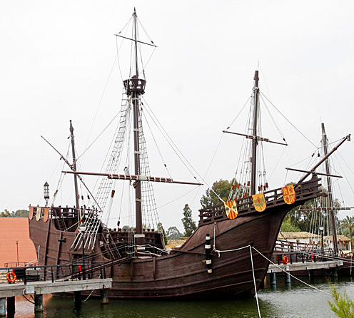 Replica of the carrack Santa Maria by Miguel Angel 2007